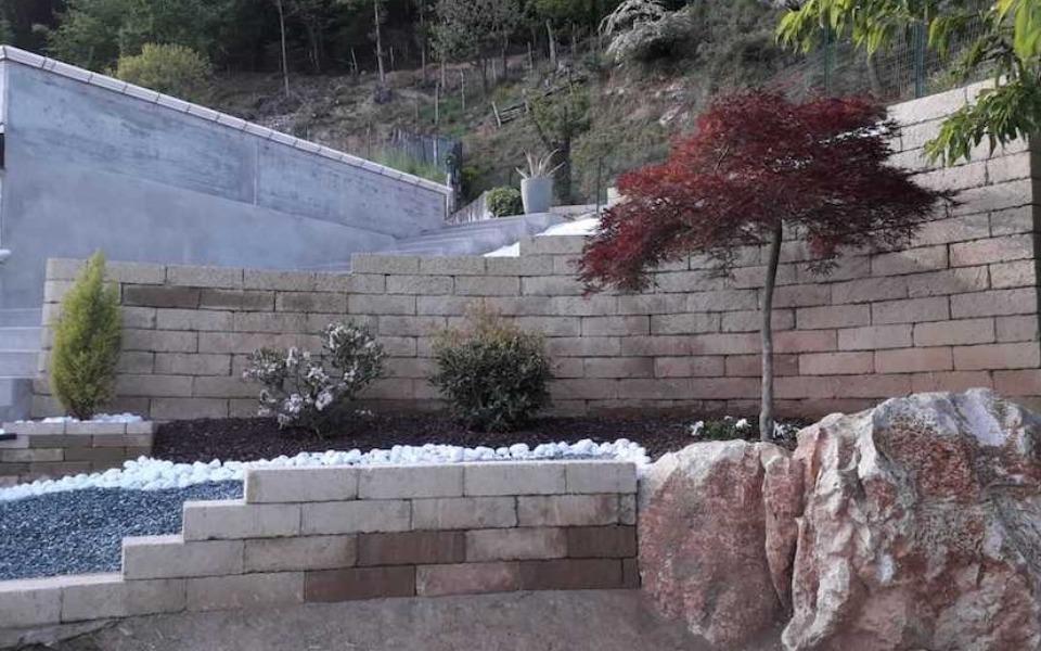 Arredo giardino villa privata